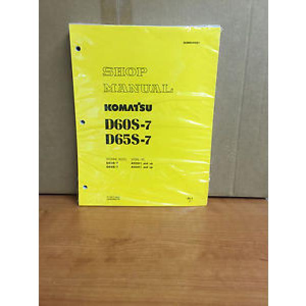 Komatsu D60S-7 D65S-7 SERVICE SHOP REPAIR MANUAL TRACTOR BULLDOZER #1 image