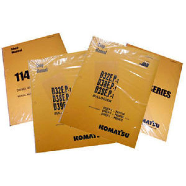 Komatsu Service PC1800-6 Hydraulic Excavator Manual #1 image
