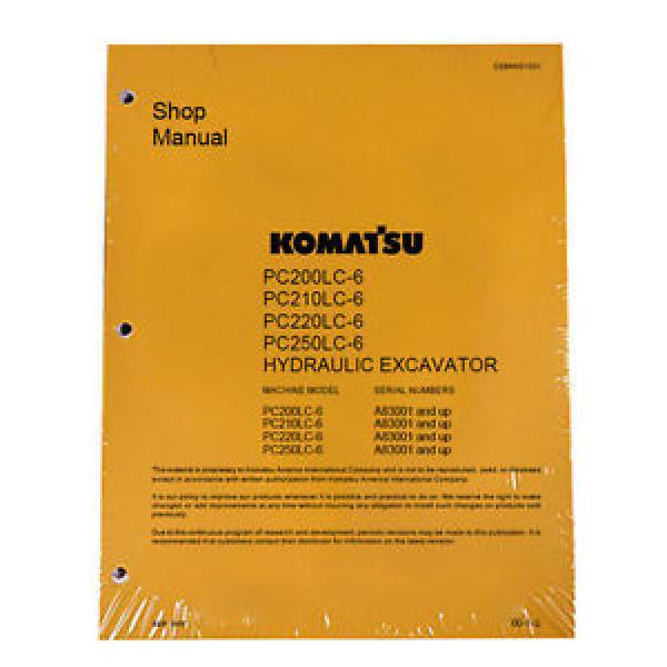 Komatsu Shop PC200-6, 200LC-6, PC210LC-6 Service Manual #1 image