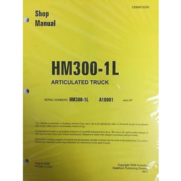 Komatsu HM300-1L Shop Service Manual Articulated Dump Truck #1 image