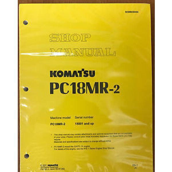 Komatsu Service PC18MR-2 Shop Repair Manual NEW #1 image