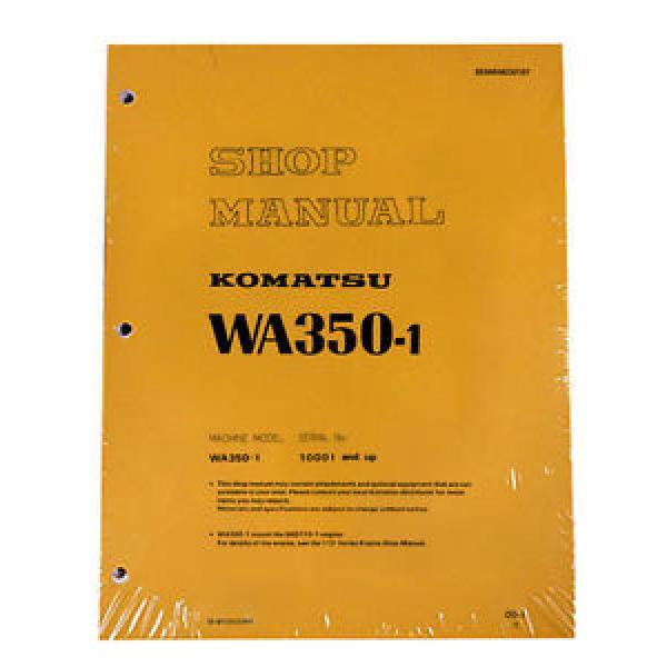 Komatsu WA350-1 Wheel Loader Service Repair Manual #1 image