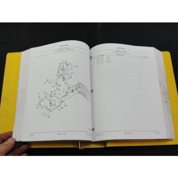 Komatsu PC200LC-6 excavator parts book manual BEPB001700 #5 image