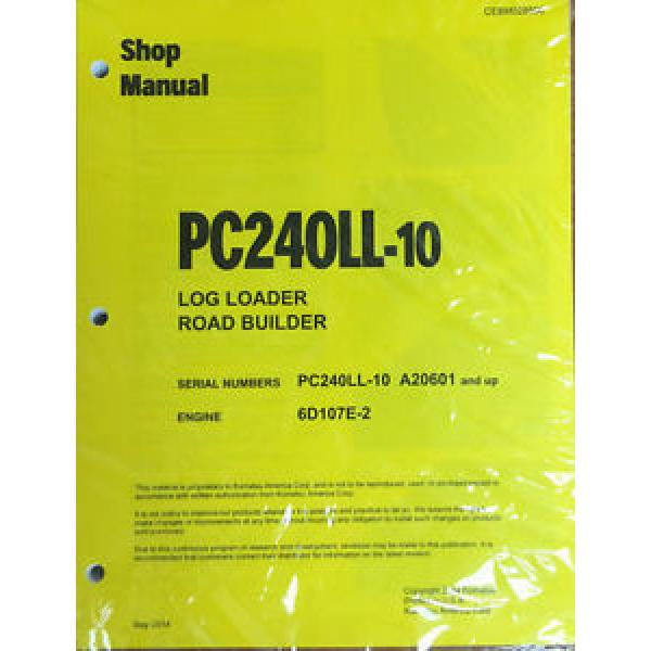 Komatsu PC240Ll-10 Hydraulic Excavator Repair and Service Manual #1 image