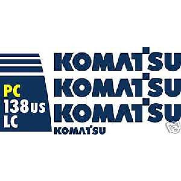 Komatsu PC138USLC Excavator - Decal Graphics Kit #1 image