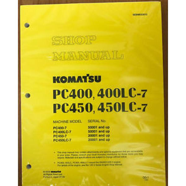 Komatsu Service PC400-7, PC400LC-7, PC450-7/LC-7 Manual #1 image