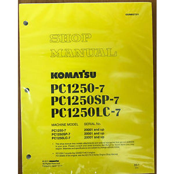 Komatsu PC1250-7 PC1250LC-7 PC1250SP-7 Service Manual #1 image