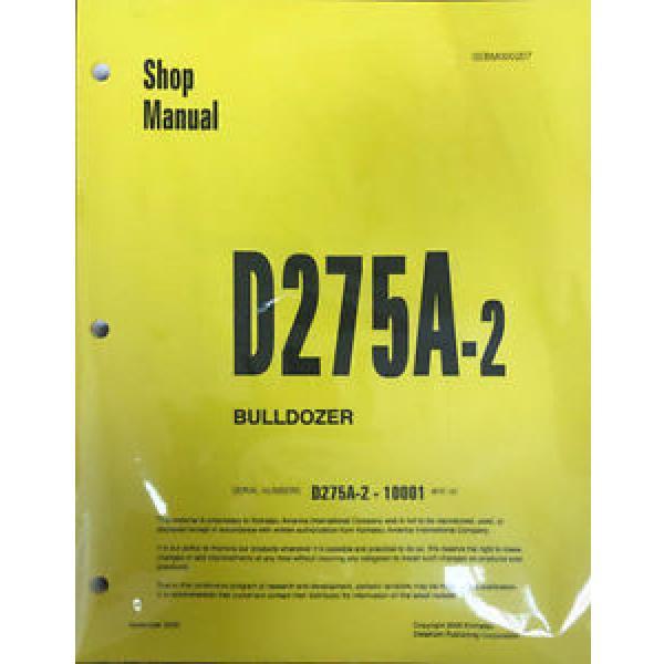 Komatsu D275A-2 Bulldozer Service Workshop Repair Printed Manual #1 image