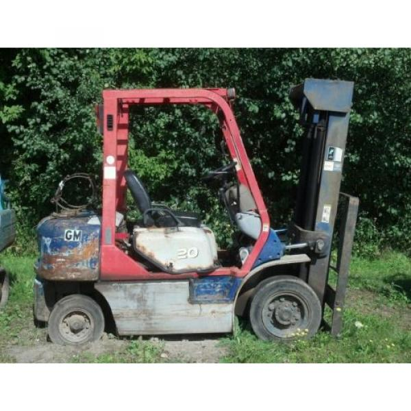 KOMATSU 4000 POUND FORKLIFT FG20C-12W FORK TRUCK LIFT TOW MOTOR PARTS OR REPAIR #1 image