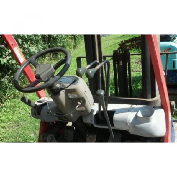 KOMATSU 4000 POUND FORKLIFT FG20C-12W FORK TRUCK LIFT TOW MOTOR PARTS OR REPAIR #2 image