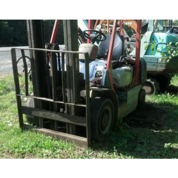 KOMATSU 4000 POUND FORKLIFT FG20C-12W FORK TRUCK LIFT TOW MOTOR PARTS OR REPAIR #5 image