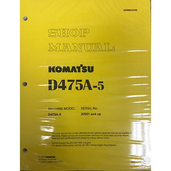 Komatsu D475A-5 Service Repair Workshop Printed Manual #1 image