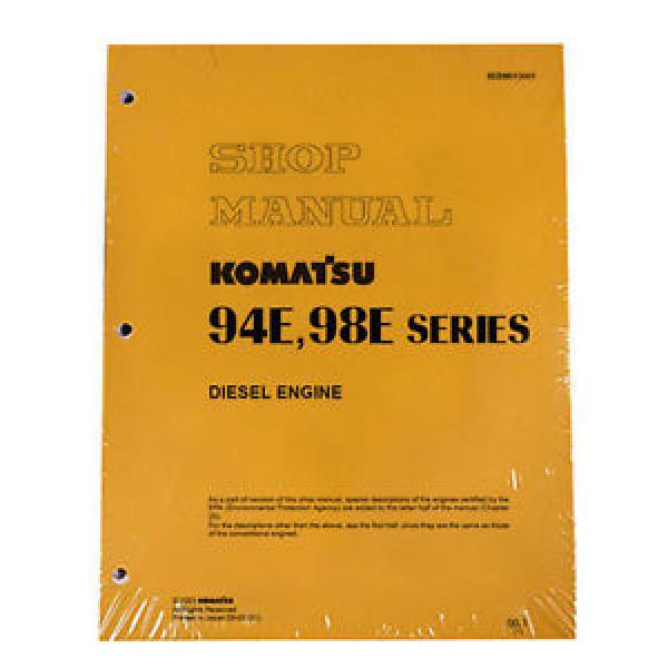 Komatsu Service Diesel Engines 94E, 98E Shop Manual #1 image