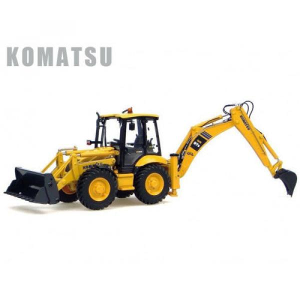 UH8015 UH Universal Hobbies Komatsu WB 97S Construction Machine Diecast 1:50 #1 image