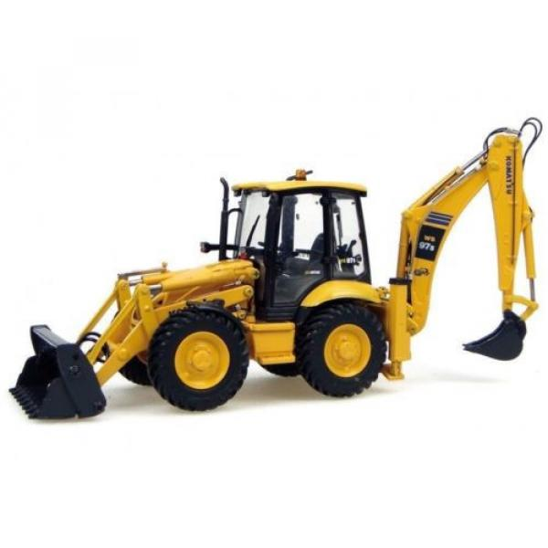 UH8015 UH Universal Hobbies Komatsu WB 97S Construction Machine Diecast 1:50 #2 image