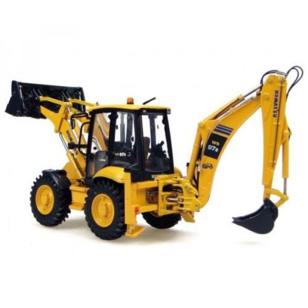 UH8015 UH Universal Hobbies Komatsu WB 97S Construction Machine Diecast 1:50 #3 image