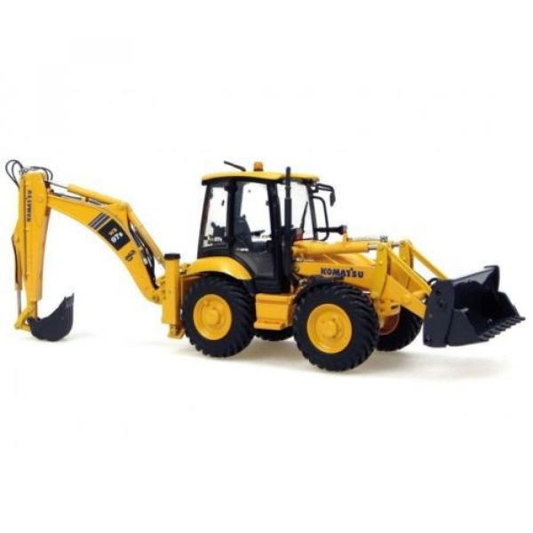 UH8015 UH Universal Hobbies Komatsu WB 97S Construction Machine Diecast 1:50 #4 image