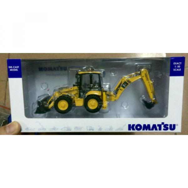 UH8015 UH Universal Hobbies Komatsu WB 97S Construction Machine Diecast 1:50 #5 image