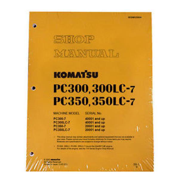 Komatsu Service PC300-7/PC300LC-7/PC350-7/LC-7 Manual #1 image