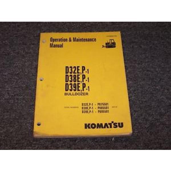 Komatsu D32E-1 D32P-1 Bulldozer Dozer Crawler Owner Operator Maintenance Manual #1 image