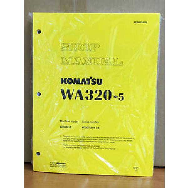 Komatsu WA320-5 Wheel Loader Shop Service Repair Manual #1 image