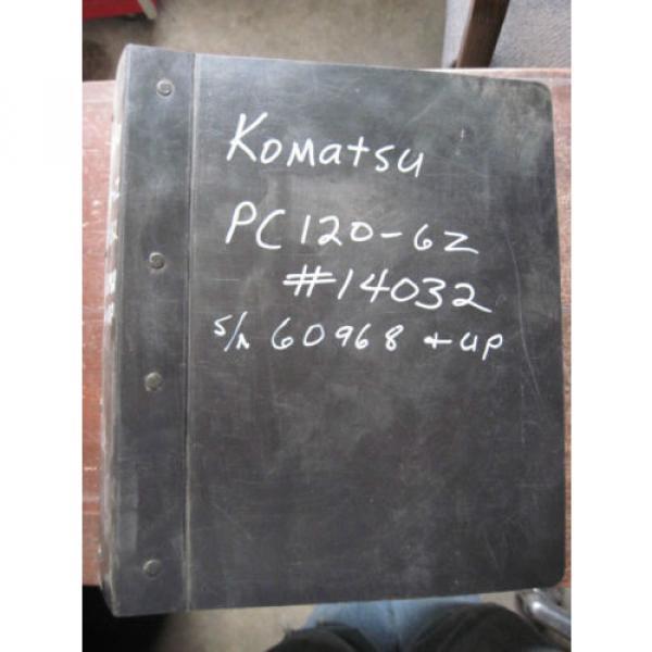 Komatsu Excavator PC120-6Z SHOP SERVICE REPAIR Manual Book #1 image