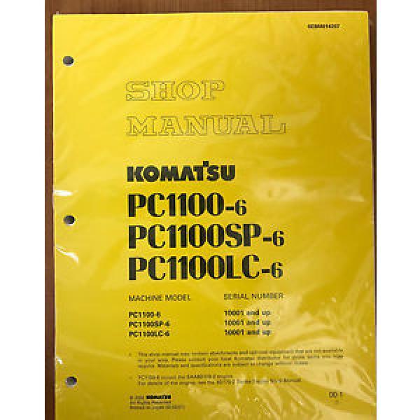 Komatsu Service PC1100-6, PC1100LC-6, PC1100SP-6 Manual #1 image