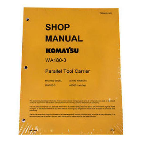 Komatsu WA180-3 Parallel Tool Service Repair Manual #1 image