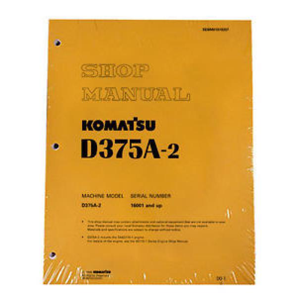 Komatsu D375A-2 Bulldozer Service Repair Workshop Printed Manual #1 image