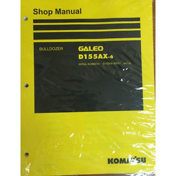 Komatsu D155AX-6 Crawler Tractor Dozer Bulldozer Shop Repair Service Manual #1 image