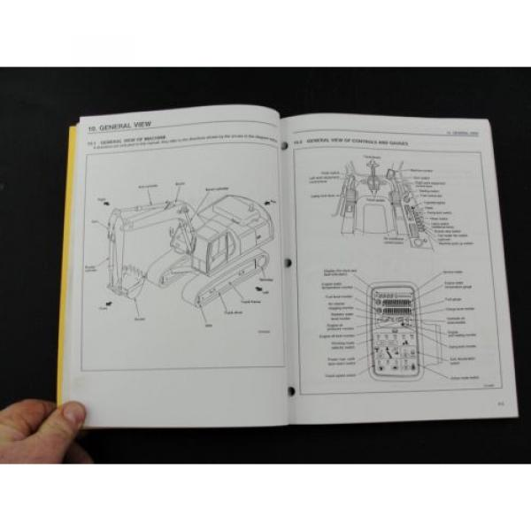 Komatsu excavator operators owner users manual PC300LC-6 PC300HD-6 CEAM3006C1 #3 image