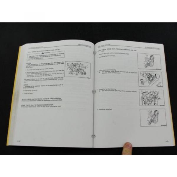 Komatsu excavator operators owner users manual PC300LC-6 PC300HD-6 CEAM3006C1 #5 image