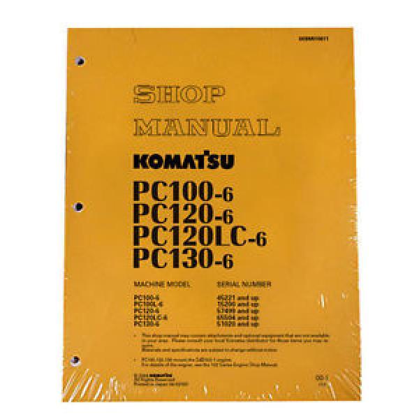 Komatsu Service PC120LC-6, PC130-6 Shop Manual NEW #1 image