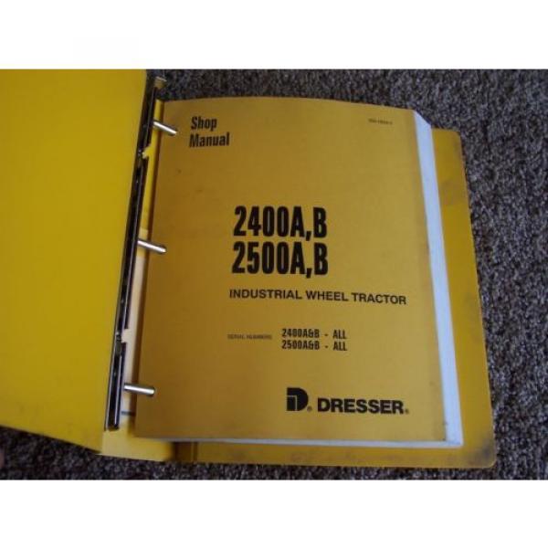 Komatsu Dresser 2400A B 2500A B Wheel Tractor Factory Service Shop Repair Manual #1 image