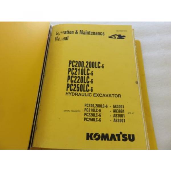 Komatsu - PC200 210 220 250 LC-6 - Hydraulic Excavator Parts Manual BEPB001800 #4 image