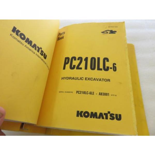 Komatsu - PC200 210 220 250 LC-6 - Hydraulic Excavator Parts Manual BEPB001800 #5 image