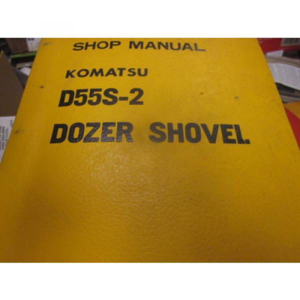 Komatsu D55S-2 Dozer Shovel Repair Shop Manual #1 image