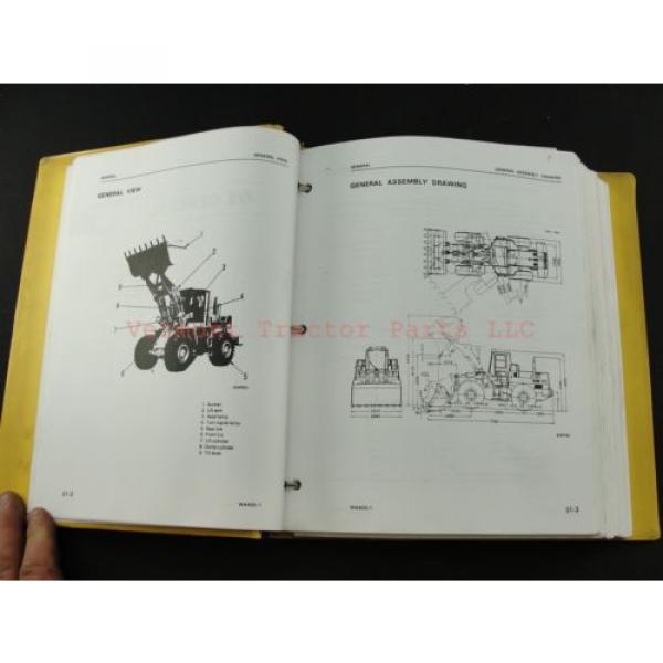 Komatsu WA400-1 wheel Loader service shop repair manual SEBM04240106 #2 image