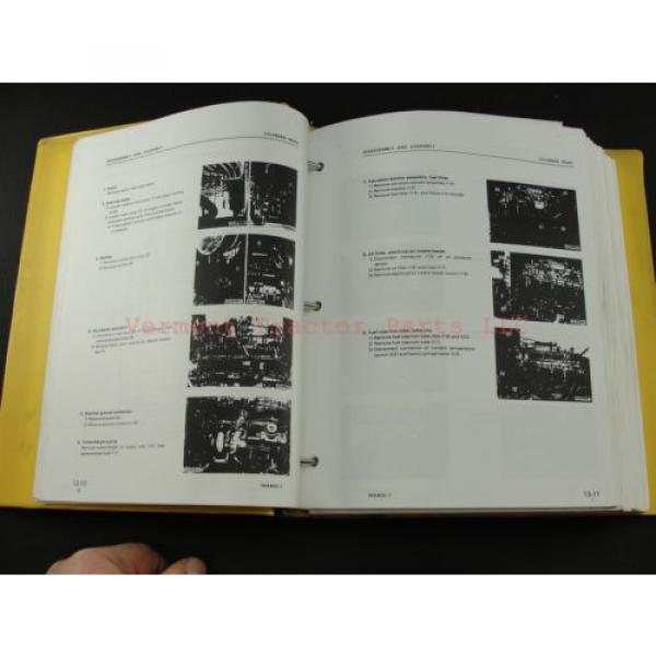 Komatsu WA400-1 wheel Loader service shop repair manual SEBM04240106 #3 image