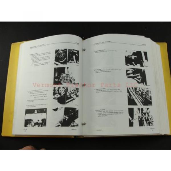 Komatsu WA400-1 wheel Loader service shop repair manual SEBM04240106 #4 image