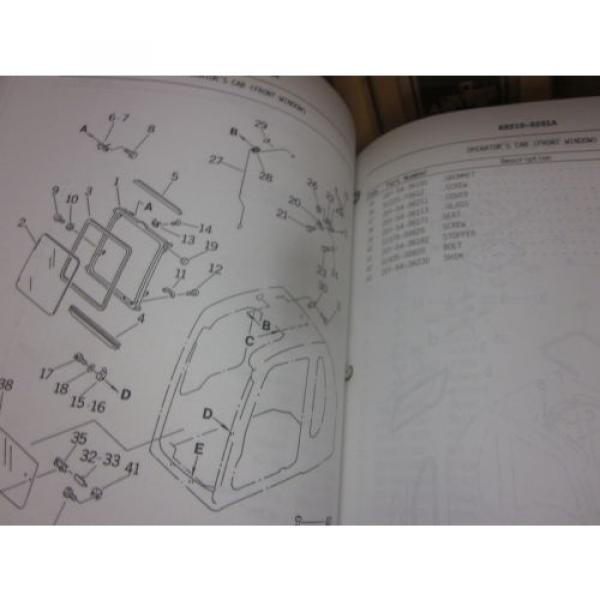 Komatsu PC250LC-6 Hydraulic Excavator Parts Book Manual #2 image
