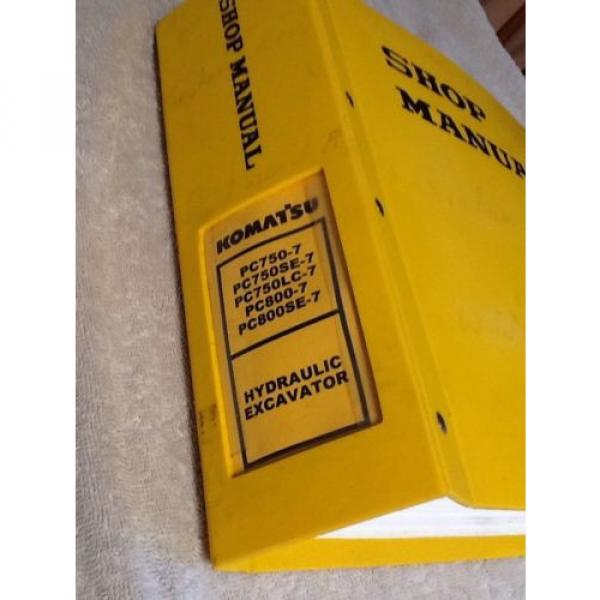 Komatsu Pc750-7, Pc750Se-7, Pc750Lc-7, Pc800-7 Excavator Shop Service Manual #2 image