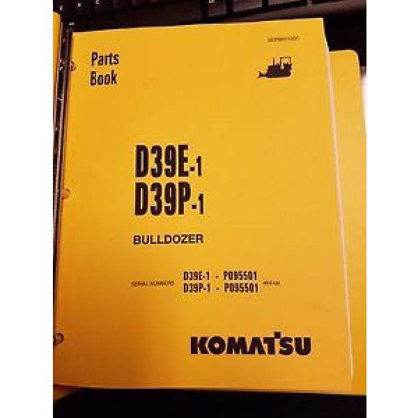PARTS MANUAL FOR D39P-1 SERIAL P095501 AND UP KOMATSU BULLDOZER #1 image