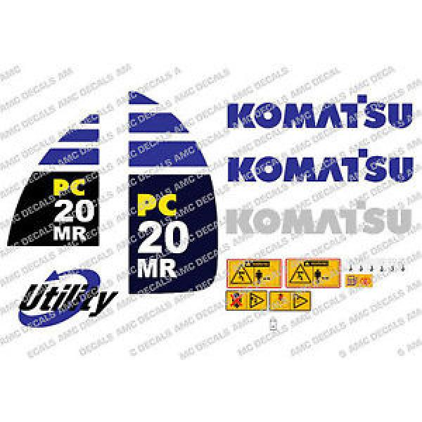 KOMATSU PC20MR DIGGER DECAL STICKER SET #1 image