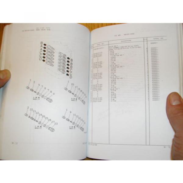 Komatsu PC150LC-6K PARTS MANUAL BOOK CATALOG HYD EXCAVATOR GUIDE BOOK EEPB005700 #3 image