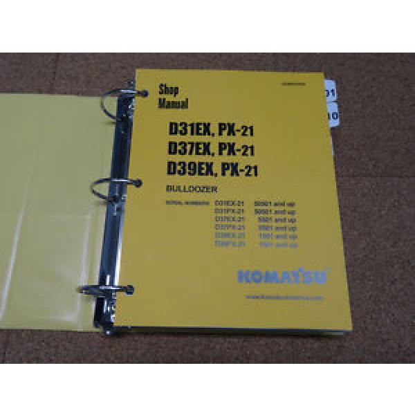 Komatsu D31EX/PX-21, D37EX/PX-21, D39EX/PX-21 Dozer Service Shop Repair Manual #1 image