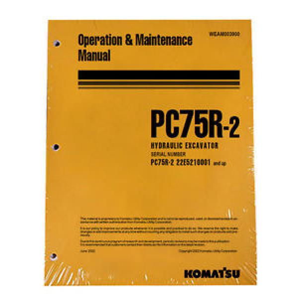 Komatsu Bulldozer D61EX-15, D61PX-15 Service Repair Printed Manual #1 image