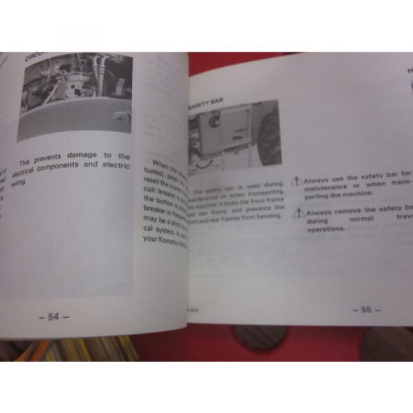 Komatsu WA350-1 Wheel Loader Operation & Maintenance Manual 10001-Up #2 image