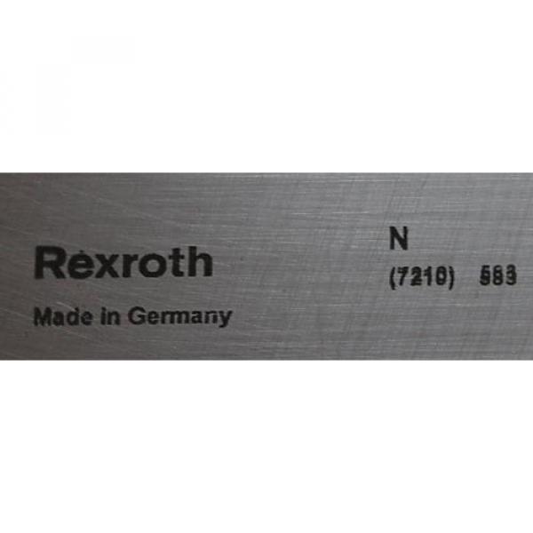 Linearführung India USA Rexroth R167 121 410-587 , Länge 535 mm , Breite 69 mm #2 image