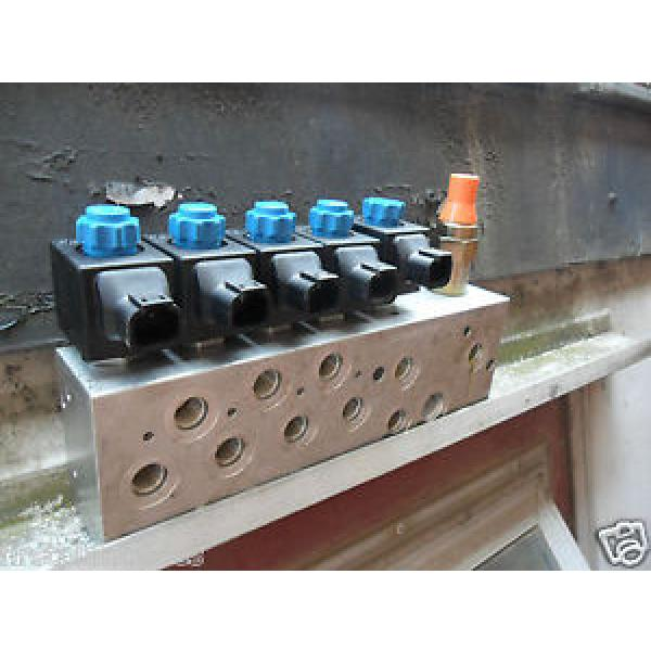 Rexroth Germany USA Electronic Hydraulic Valve Block 0FE08606OC0101 #1 image